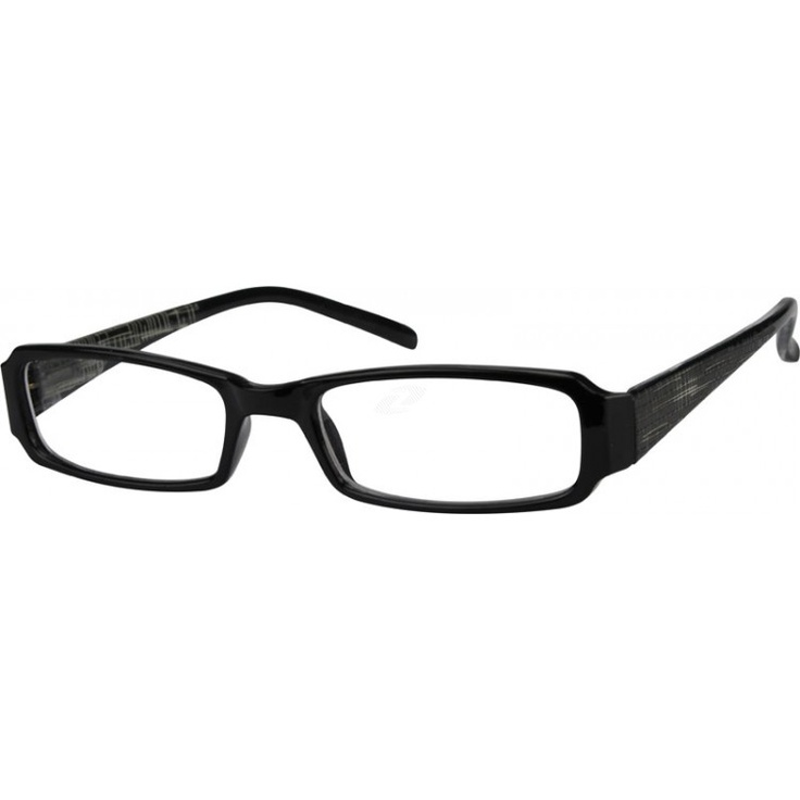 Eyeglass Frame Temple : A plastic full-rim frame with long flexible plastic temple ...