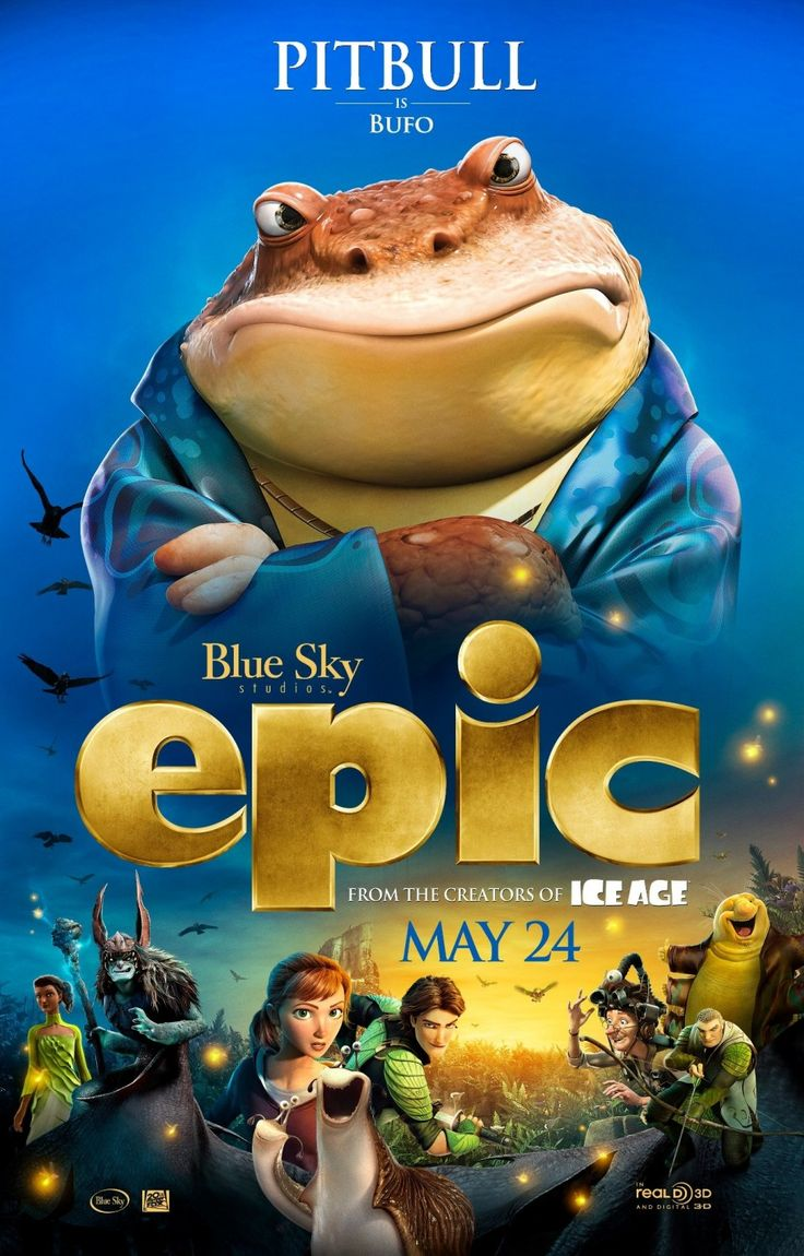 Epic: Extra Large Movie Poster Image - Internet Movie Poster Awards Gallery