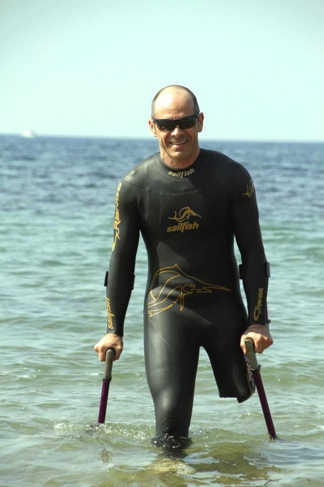 ANDREA DEVICENZI (Paratriathlon Atlete) E LE TOMPOMA.-the best crutch ever built. www.tompoma.com