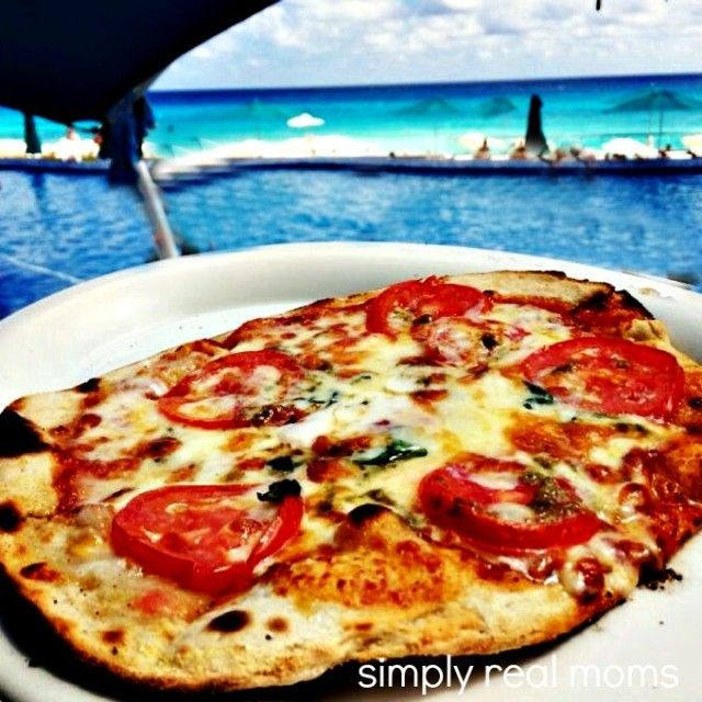 BEST pizza EVER!!! Hard Rock Hotel Cancun: All Inclusive, Family Friendly Resort