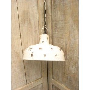 Hanglamp-oud-wit-28-cm