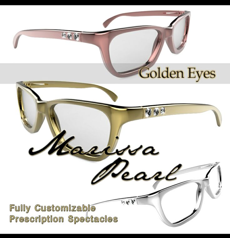 14k solid gold and diamond PRESCRIPTION glasses ~ $5,000 order @ wildstylejewelry@gmail.com