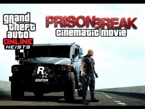 GTA 5 - The Prison Break  [Rockstar Editor Movie] HD