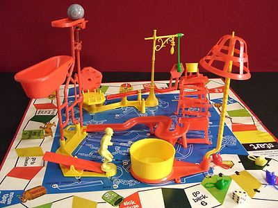 Mouse Trap game! I loved this game back in the day!!!   I still have mine!