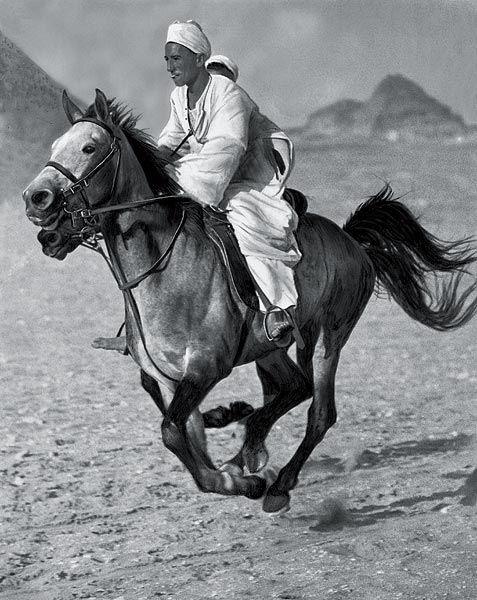 """""""The Bedouin"""" by Martin Munkácsi. Egypt, 1929."""