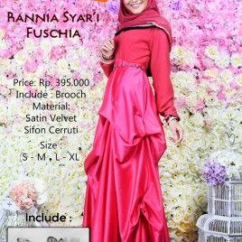 Gamis Modern Elegant Wanita muslim by Zelia #islamicfashion