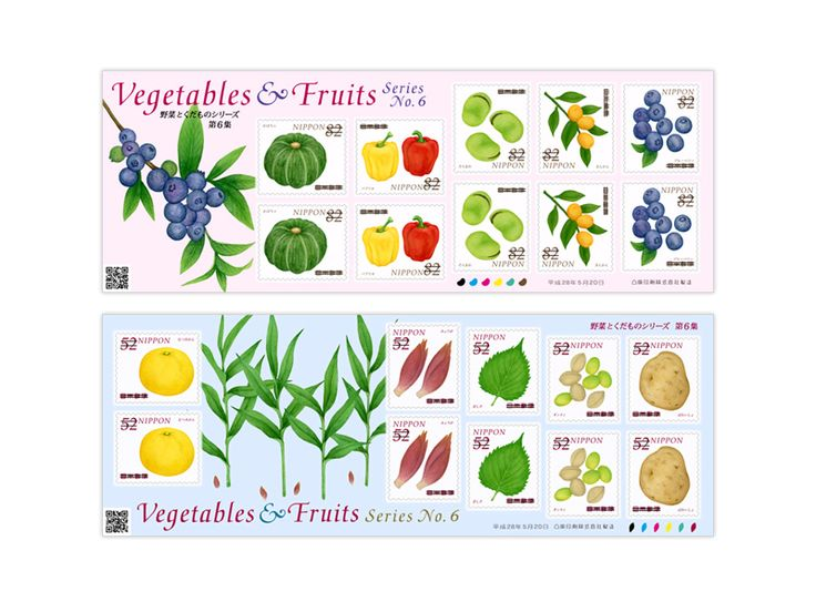COLLECTORZPEDIA Fruits and Vegetables 6th Series