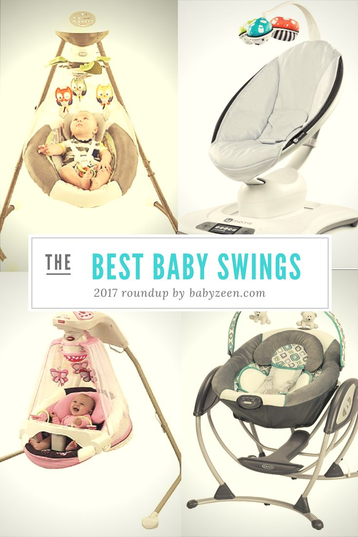 Best Baby Swing - 2017 Roundup: We're looking into a few great baby swing models to help you find the best one for your little one.