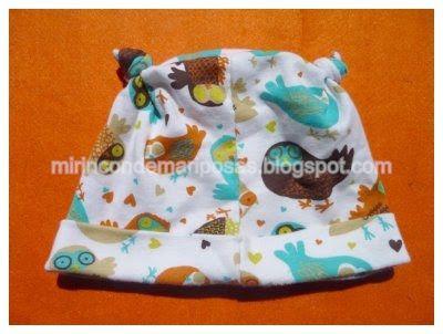 mi rincón de mariposas: Coser un gorrito de bebé