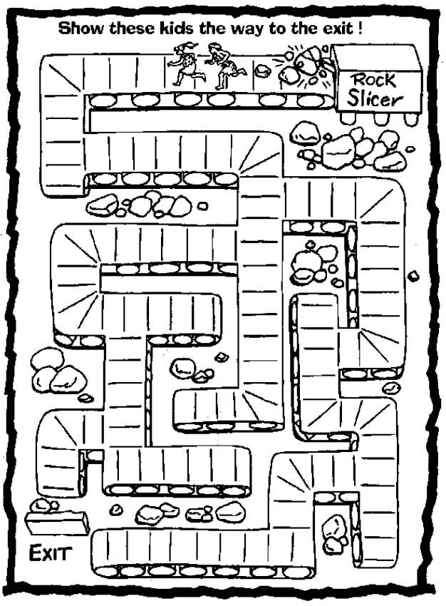 Free Printable Mazes For Kids At AllKidsNetwork