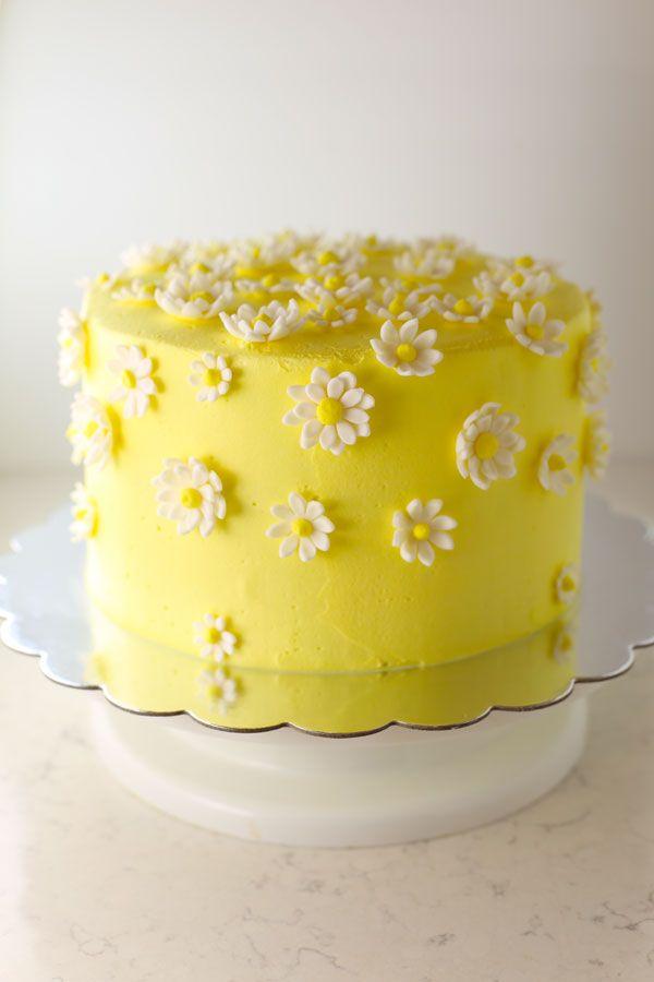 Marvelous Happy Birthday Polka Dot Cake Recipe With Images Daisy Cakes Personalised Birthday Cards Paralily Jamesorg