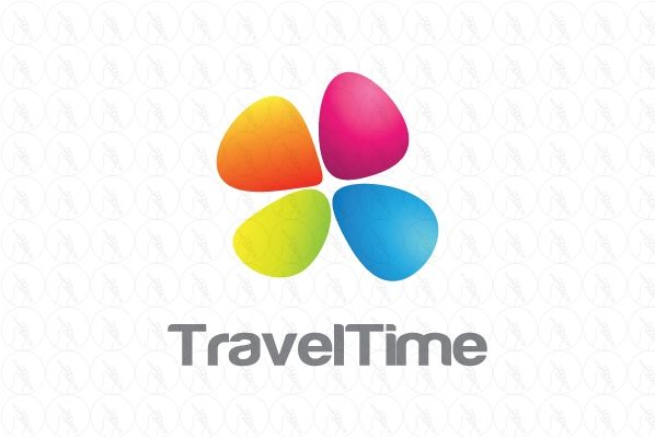 travel time - $300 http://www.stronglogos.com/product/travel-time #logo #design…