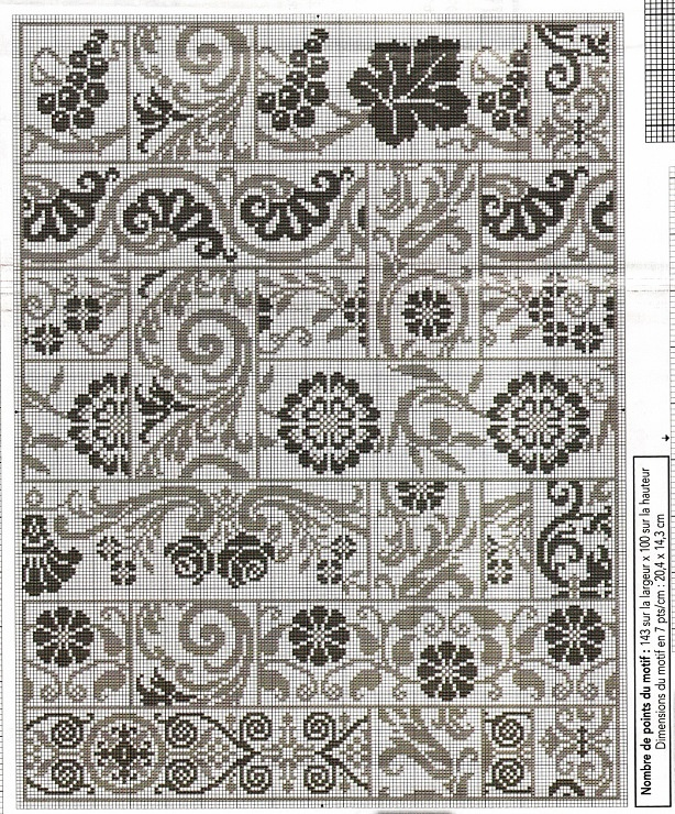 assorted border patterns