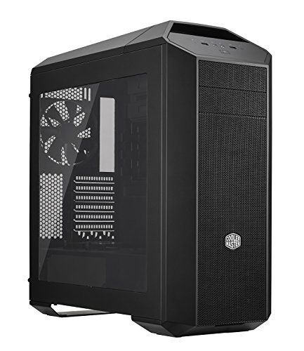 "Cooler Master MasterCase Pro 5 Computer Case ""MCY-005P-KWN00, USB 3.0, ATX, microATX, Mini-ITX, Window Side Panel, Black"" - PC Components - PC Geeks 