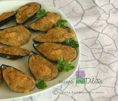 Cozze gratinate al forno, ricetta antipasto di mare