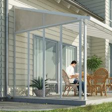 Feria™ 10ft. H x  9ft. D Patio Cover Awning Sidewall Kit