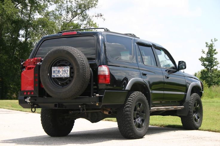 Shrockworks 4Runner Tire Carrier, 3rd Gen (1996-2002)