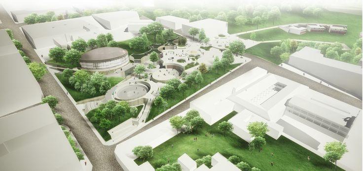Segundo Lugar en concurso nacional UVA Orfelinato / Medellín, Colombia,Courtesy of Labranza Arquitectura S.A.S.