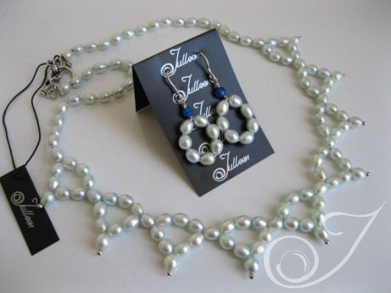 Christina Necklace and Earrings Set VO027.09-SET