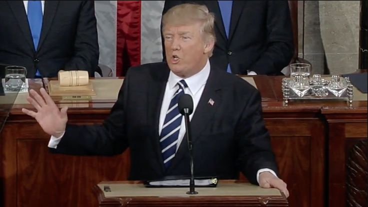 Trump's First Presidential Address to Congress - Full Speech -- I love this president! Great speech!