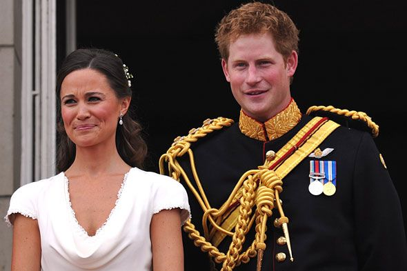 Maid of Honor Pippa Middleton and Best Man Prince Harry