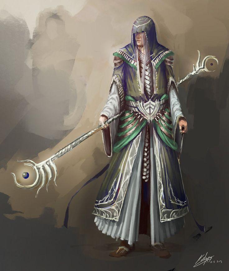 Elf Wizard by Kailyze on deviantART #wizard