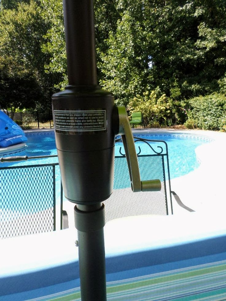 Patio Umbrella Crank Diagram: Best 25+ Pool Umbrellas Ideas On Pinterest