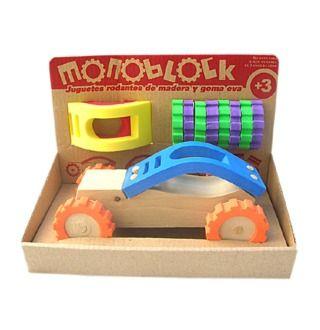 Auto de madera Monoblock — Enpañales.com.ar
