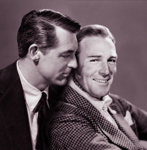 Cary Grant and Randolph Scott - They had a 12-year relationship; not many fans…