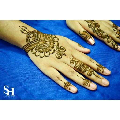 Simple design for parties #henna #mehndi
