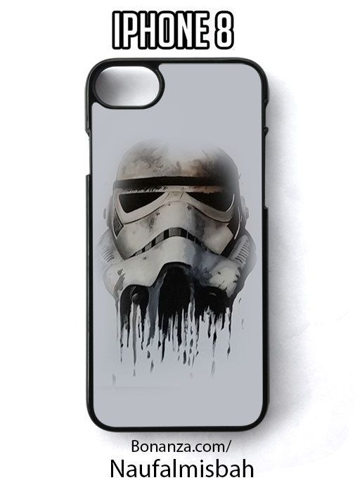 Stormtrooper Star Wars Painting iPhone 8 Case Cover - Cases, Covers & Skins