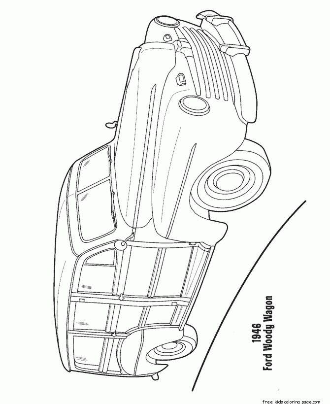 station wagon coloring pages - 31 best set design props images on pinterest station