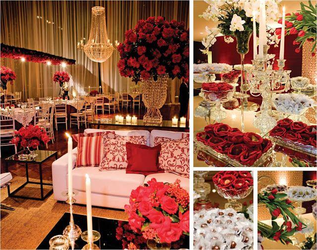 Blog Vida Nova Noiva: Decoração de casamento | Vermelho