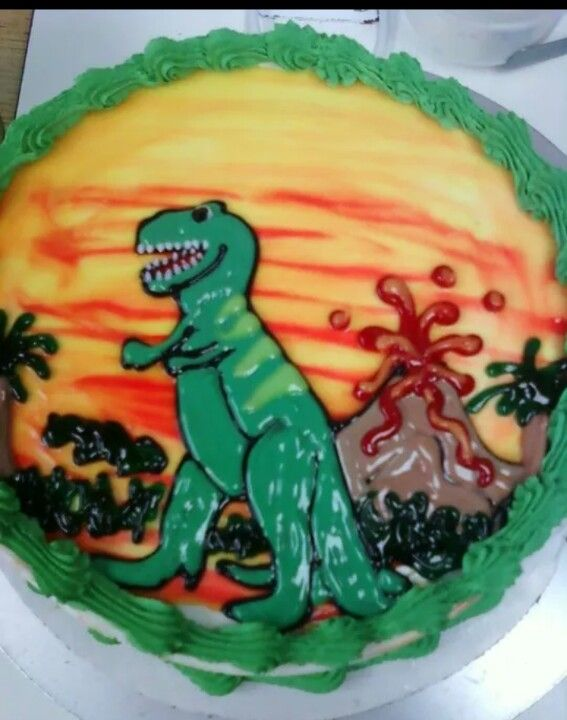 Dairy Queen Cake Dinosaur My Dairy Queen Cakes