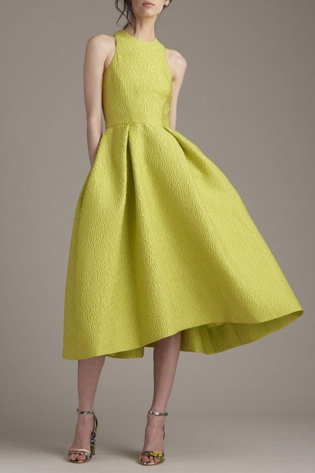 50 Colorful Wedding Dresses Non-Traditional Brides Will Love via Brit + Co