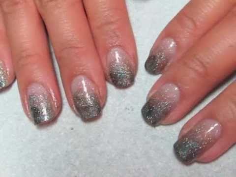 Smokey Gradient Nails