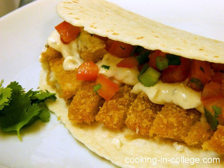 Tilapia Tacos | Fish/ Tilapia | Pinterest