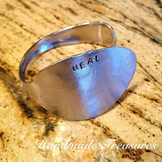 Be Real Cuff UpCycled Spoon Bracelet