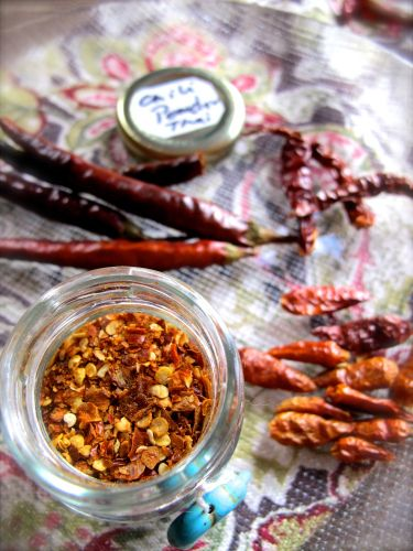 Chili powder is one of the ingredients used everyday in Thai kitchens. I want to take this opportunity to demystify it.