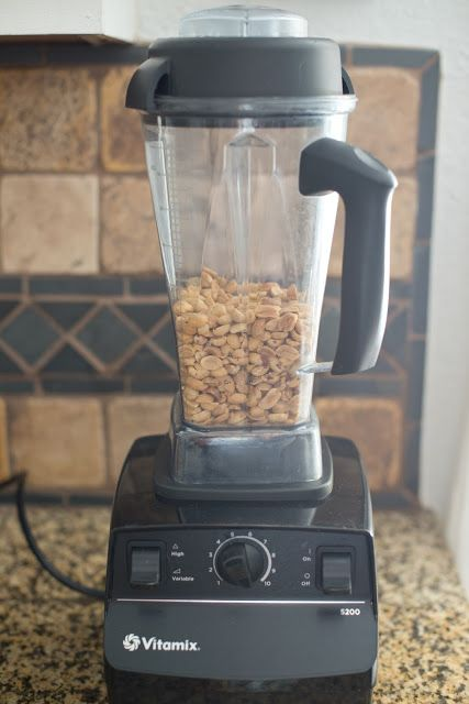 Making Homemade Peanut Butter in the Vitamix