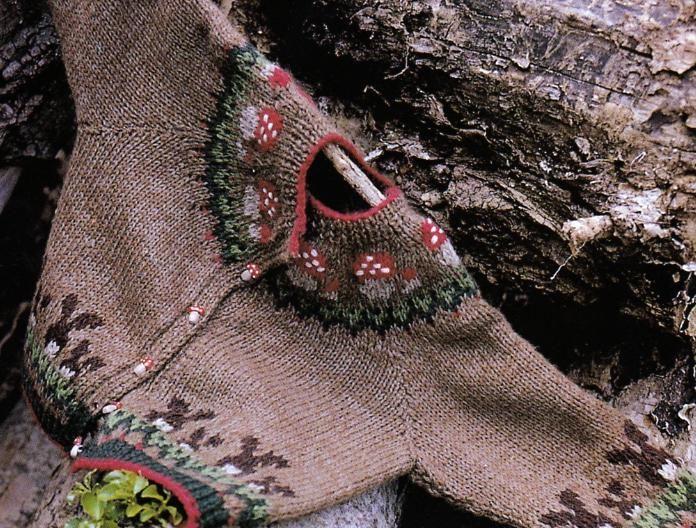 [Tricot] Le cardigan aux champignons - La Boutique du Tricot et des Loisirs Créatifs
