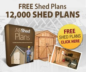 My Shed Plans:  12,000 Shed Plans with Shed Blueprints, Diagrams & Woodworking Designs, Kits, Storage Garden Shed Plans Patterns - Download free outdoor shed plans, garden and storage sheds plus wood working projects, designs with woodworking patterns. Comes with garage plans and projects.