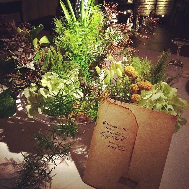 「#magritte_wedding #themagritte #okayama #flower #paperitem #wedding」