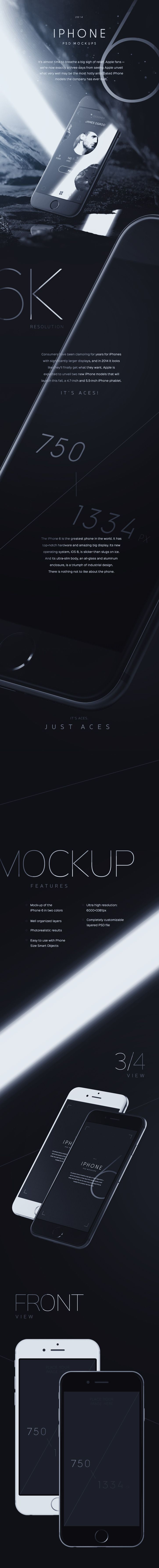 iPhone6 Mockups Preview