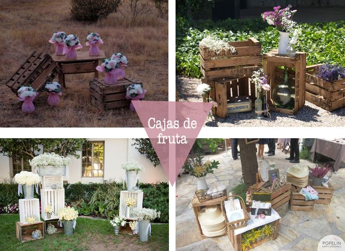 Cajas fruta boda cajas de for Mesa con cajas de fruta