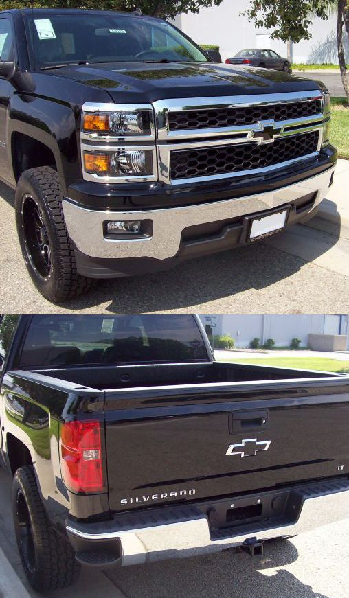 2014 Silverado 1500 Insert Black Bowtie Emblem