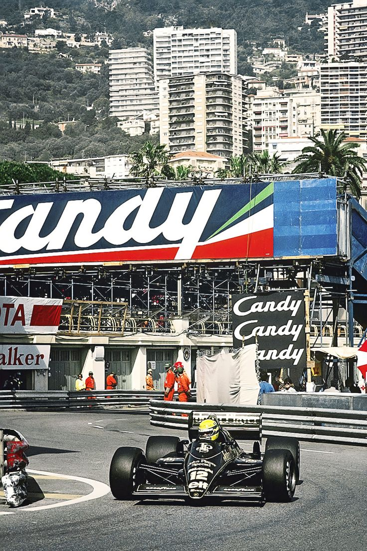 Ayrton Senna GP Monaco