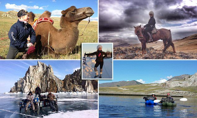 Woman quit her City job to become a full-time adventurer