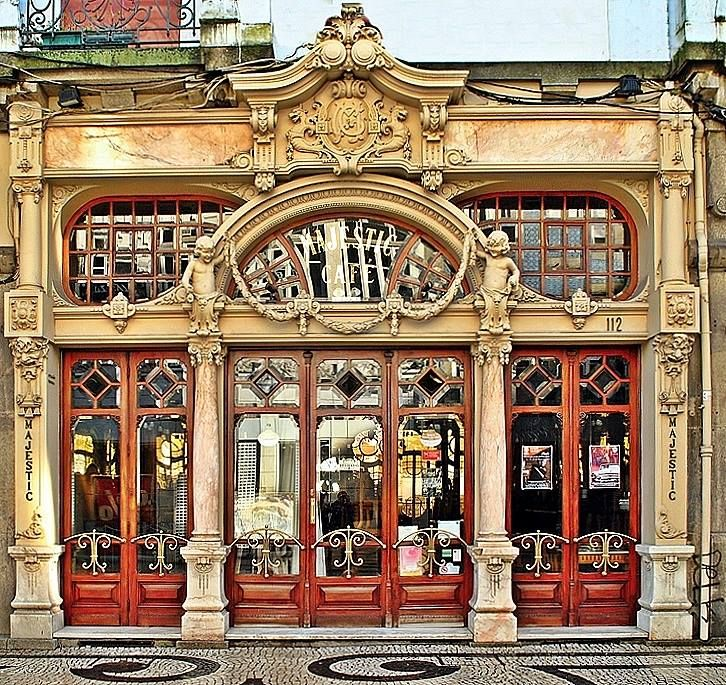 6 Top Interior Design Projects From Porto Portugal: Majestic Café Porto