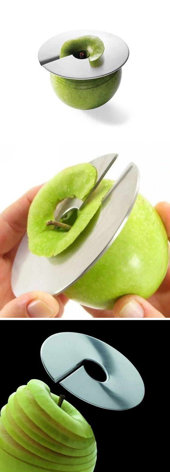 Funny grab shaped multi purpose fruits vegetable peeler bottle opener - Giro Apple Slicer By Mono Always Get Those Nice Thin Apple Slices